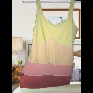 Summer sherbet colored plus size camisole 18w 20w